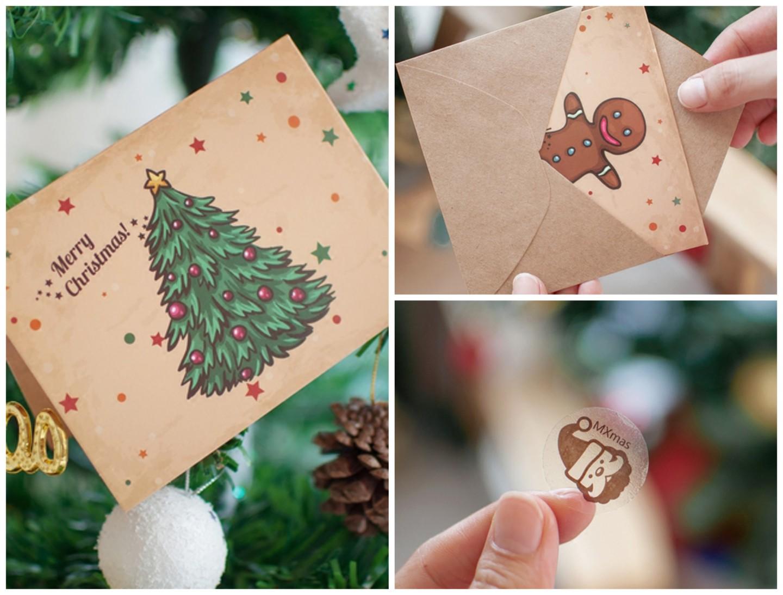 Kerstkaarten - set van 6 stuks image