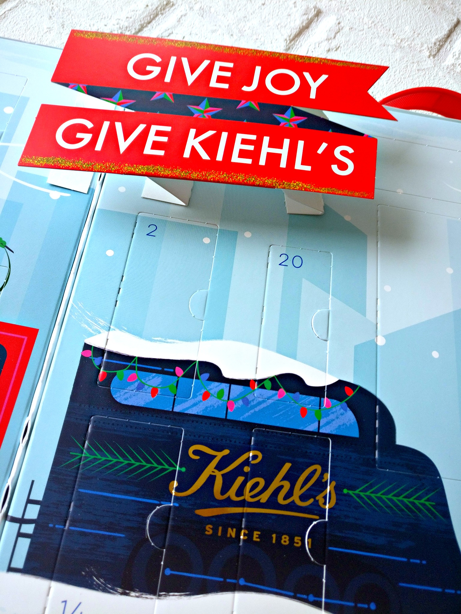Kiehl's 2018 Limited Edition Adventskalender Give joy Give Kiehl's