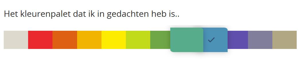 Kleurenpalette Flexa