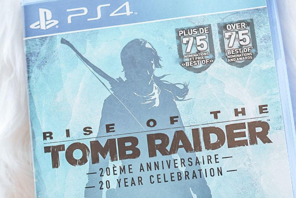 Lara Croft - Rise of the Tombraider box closeup