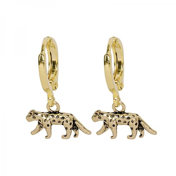 Oorbellen Lucky Leopard