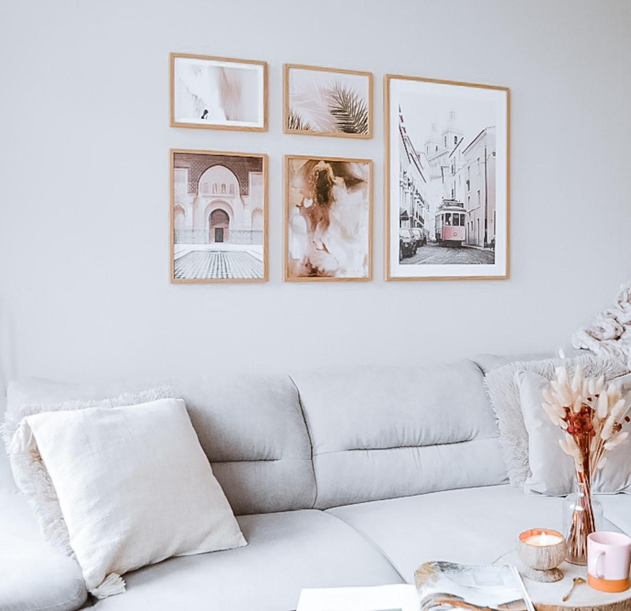 Mooie woonkamer make-over met Poster Store