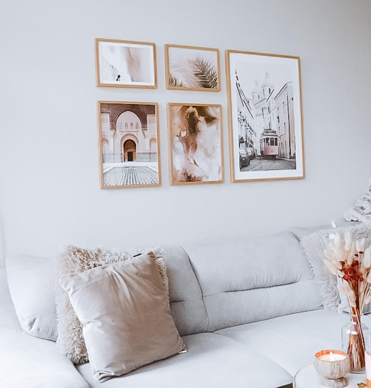 Mooie woonkamer met Poster Store