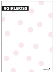 Notitieblok - #Girlboss image