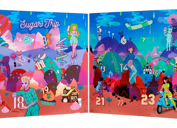Nyx Sugar Trip Adventskalender
