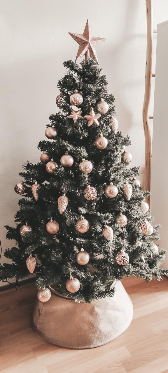 Onze nieuwe kerstboom
