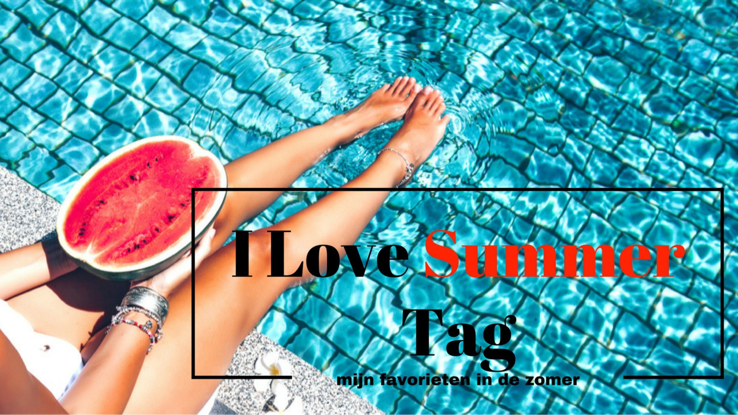 Personal I Love Summer Tag