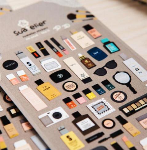 Planner stickers - Beauty