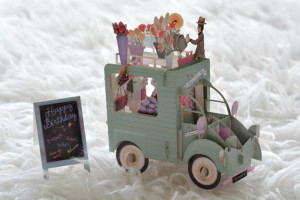 Pop up verjaardagskaart