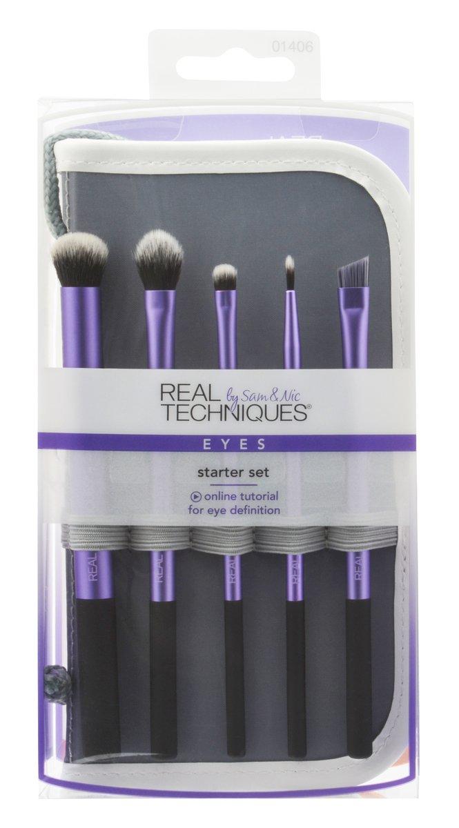 Real Techniques Starterkit Oog - 5 stuks - Make-up Kwastenset