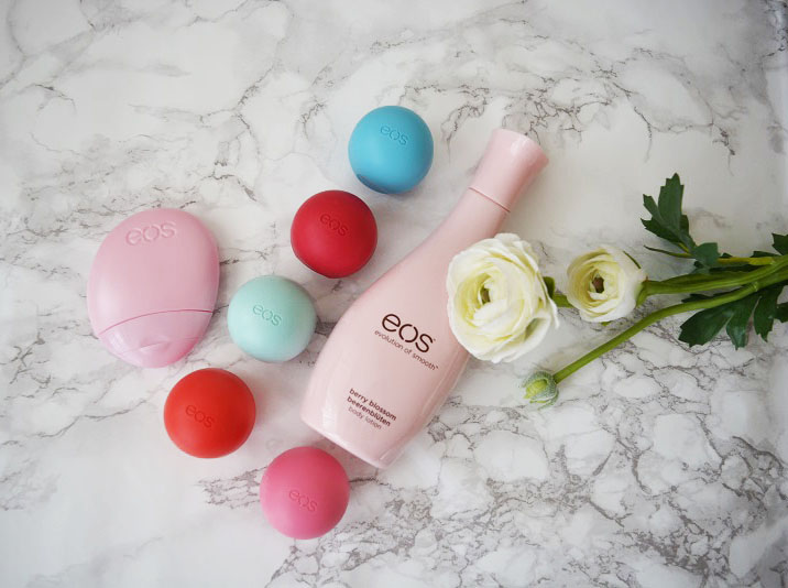 Review | EOS Lip Balm, Hand & Body Lotion