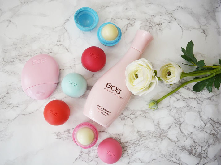 Review | EOS Lip Balm, Hand & Body Lotion + Swatch