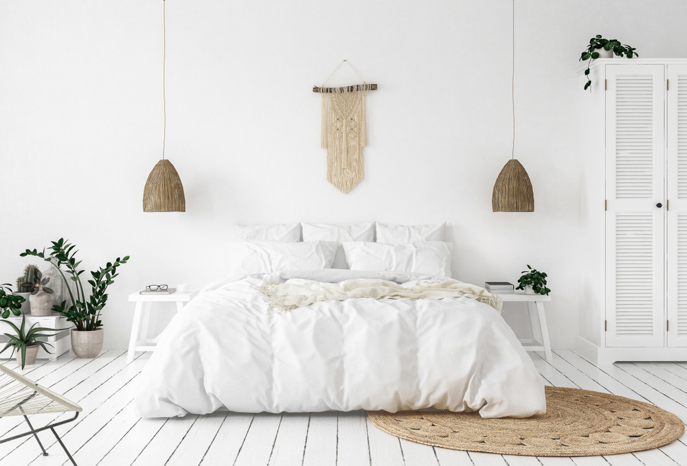 Scandinavish boho interieur