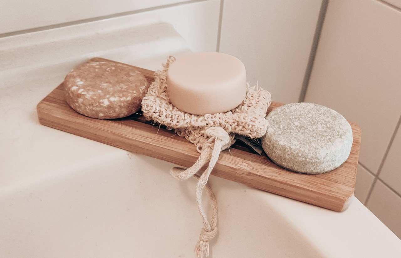Shampoo Bars in badkamer