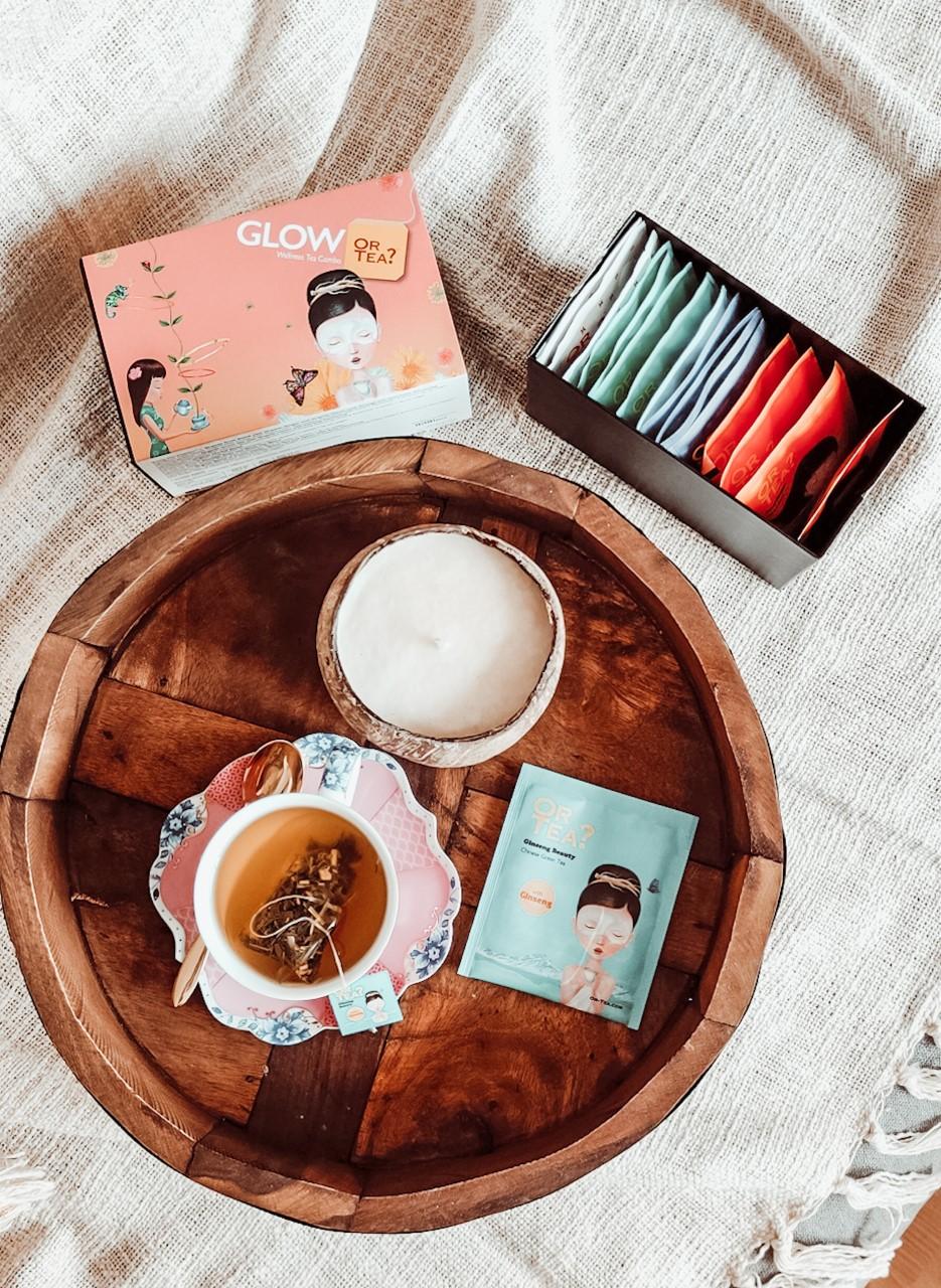 Snel ontspannen met Or Tea Glow thee & kortingscode