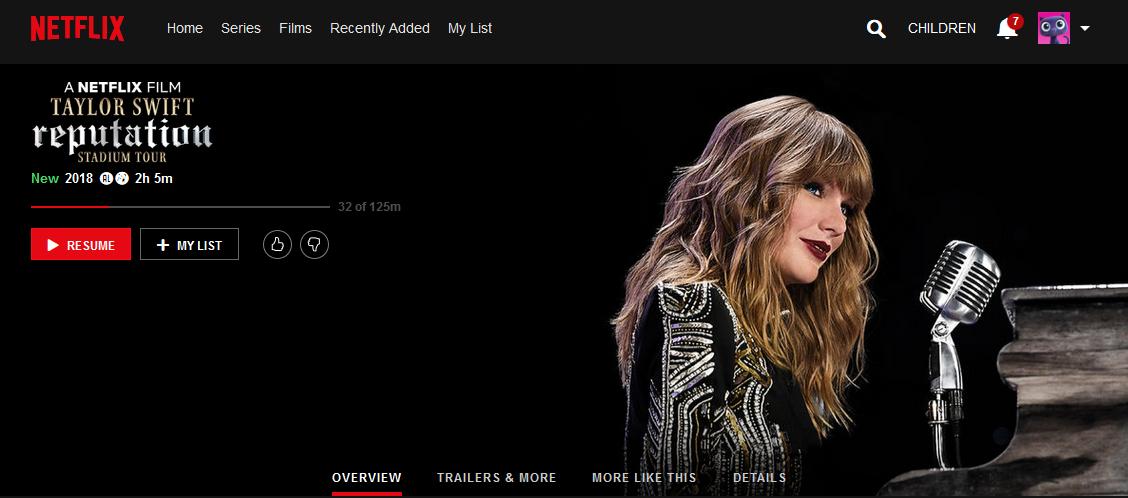 Mooie kerstvakantie films op Netflix - Taylor Swift