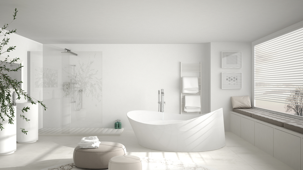 Tips voor een minimalistische badkamer