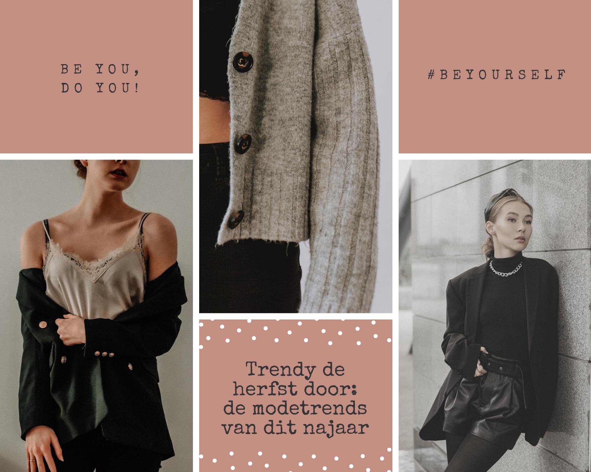 Trendy de herfst door de modetrends van dit najaar