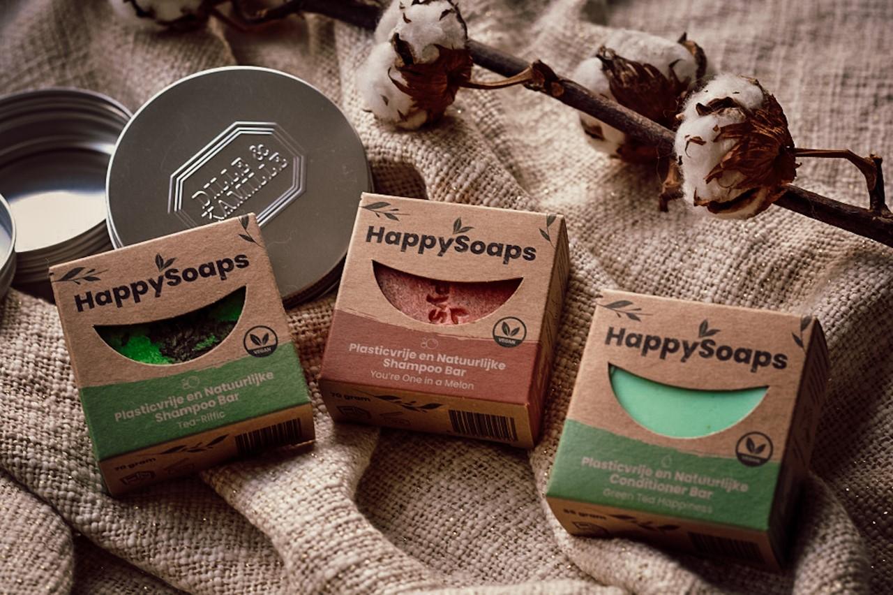 Krullen wassen met Happy Soaps
