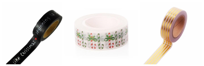Washi tape kerstmis image