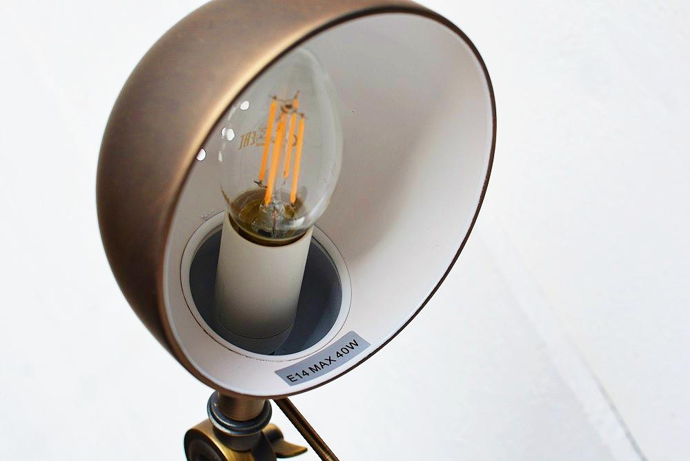 Wonen | Mijn mooie nieuwe bureaulamp binnenkant lampenkap