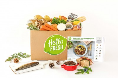 hellofresh kerstbox